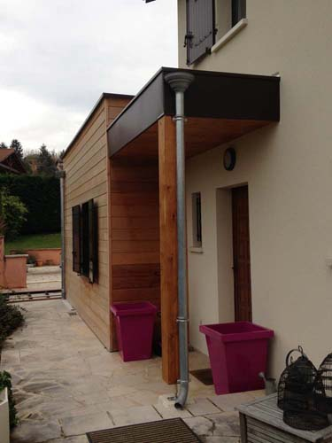 Extension toit terrasse : Chaponnay (69)
